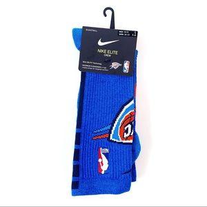 Nike Elite Socks NBA OKC Oklahoma City Thunder